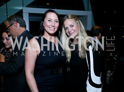 Heather Guay, Christy Schlesinger. Photo by Tony Powell. Earth Echo Expeditions. Newseum. October 10, 2013