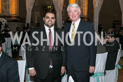 Haithan Hasan Al Subaihi, Geert Boven. Photo by Alfredo Flores. Etihad Airways Dinner. Mellow Auditorium. April 2, 2013.