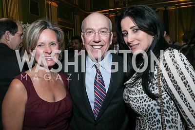 Alison Newman, Kurt Newman, Pauline Habr. Photo by Alfredo Flores. Etihad Airways Dinner. Mellow Auditorium. April 2, 2013.