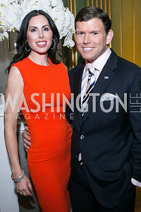 Amy Baier, Bret Baier. Photo by Alfredo Flores. Etihad Airways Dinner. Mellow Auditorium. April 2, 2013.
