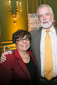 Norma Stratton, John Stratton. Photo by Alfredo Flores. Etihad Airways Dinner. Mellow Auditorium. April 2, 2013.