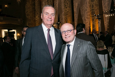 Jim Jones, Franco Nuschese. Photo by Alfredo Flores. Etihad Airways Dinner. Mellow Auditorium. April 2, 2013.