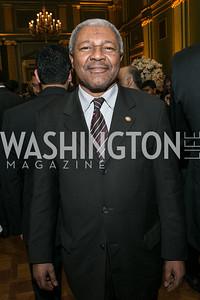 Amb. of the Comoros Roubani. Photo by Alfredo Flores. Etihad Airways Dinner. Mellow Auditorium. April 2, 2013.