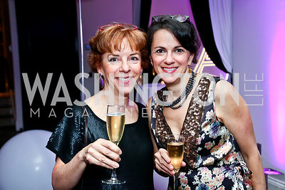 Ellen Weldon, Alysa DeFelice. Photo by Tony Powell. Events by Andre Wells 10th Anniversary. Malmaison. June 5, 2013