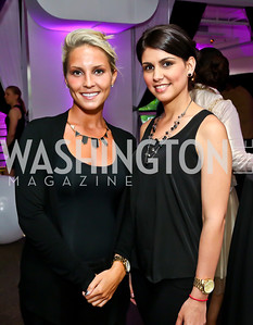 Angela Biciocchi, Claudia Barcelo. Photo by Tony Powell. Events by Andre Wells 10th Anniversary. Malmaison. June 5, 2013