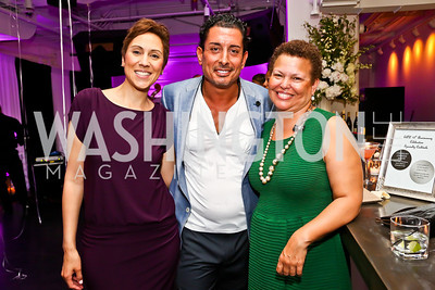 Jill Hudson Neal, Davide De Pas, Debra Lee. Photo by Tony Powell. Events by Andre Wells 10th Anniversary. Malmaison. June 5, 2013