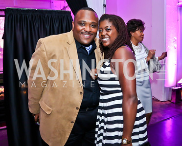 Gerald Padmore, Jenee Moore. Photo by Tony Powell. Events by Andre Wells 10th Anniversary. Malmaison. June 5, 2013