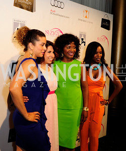 Robyn Dixon,Ashley Arias, Aba Kwawu,Krystal Yoseph.April 13,2013,Fashion for Paws,Kyle Samperton