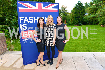 Dana Weiss, Kristin Davidsson, Heather Guay, Fashion is Great, Bloomingdales and Detail Magazine, British Embassy.  Thursday, October 3 2013.  Photo by Ben Droz.