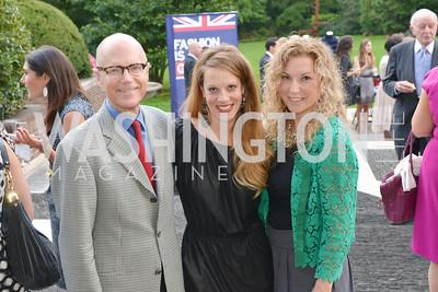 Craig Helsing, Melinda Goforth, Courtney Zellner, Fashion is Great, Bloomingdales and Detail Magazine, British Embassy.  Thursday, October 3 2013.  Photo by Ben Droz.