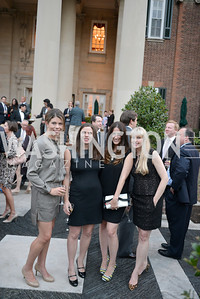 Anne MacMillan, Mary Saltzman, Kelly Ferenc, Anjulen Reilly, Fashion is Great, Bloomingdales and Detail Magazine, British Embassy.  Thursday, October 3 2013.  Photo by Ben Droz.