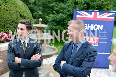 Matt Marden, Kevin Harter, Fashion is Great, Bloomingdales and Detail Magazine, British Embassy.  Thursday, October 3 2013.  Photo by Ben Droz.