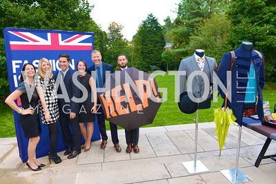 Dana Weiss, Kristin Davidsson, Matt Marden, Heather Guay, Kevin Harter, Josh Peskowitz, Fashion is Great, Bloomingdales and Detail Magazine, British Embassy.  Thursday, October 3 2013.  Photo by Ben Droz.