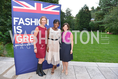 Kristie Prantil, Nveteki Akuetteh, Ella Hoffman,Fashion is Great, Bloomingdales and Detail Magazine, British Embassy.  Thursday, October 3 2013.  Photo by Ben Droz.