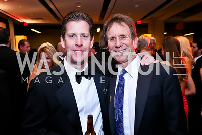 Chuck Kuhn, Neil Cohen. Photo by Tony Powell. 2013 Fight Night. Hilton Hotel. November 14, 2013