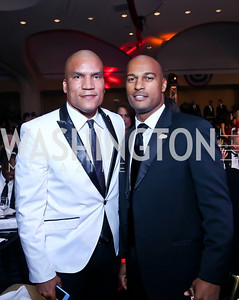 Paxton Baker, Kevin Friend. Photo by Tony Powell. 2013 Fight Night. Hilton Hotel. November 14, 2013