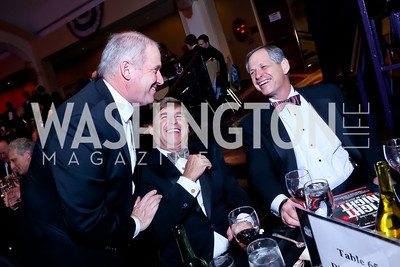 James Greenwald, Bob Friend, Ted Berkinshaw. Photo by Tony Powell. 2013 Fight Night. Hilton Hotel. November 14, 2013
