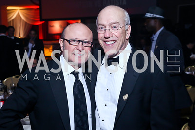 Franco Nuschese, Children's National Medical Center CEO Kurt Newman. Photo by Tony Powell. 2013 Fight Night. Hilton Hotel. November 14, 2013