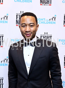 Singer John Legend. Photo by Tony Powell. 2013 Fight Night. Hilton Hotel. November 14, 2013