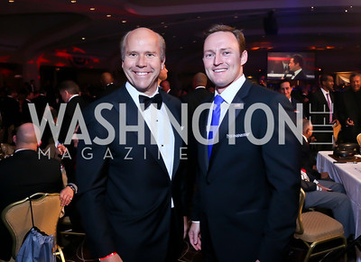 Rep. John Delaney, Patrick Murphy. Photo by Tony Powell. 2013 Fight Night. Hilton Hotel. November 14, 2013