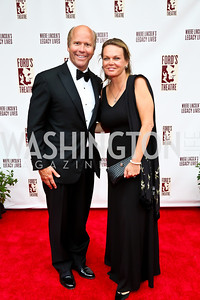 Rep. John Delaney and April Delaney. Photo by Tony Powell. 2013 Ford's Theater Annual Gala. June 2, 2013