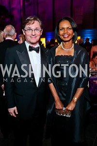 Richard Thomas, Dr. Condoleezza Rice. Photo by Tony Powell. 2013 Ford's Theater Annual Gala. June 2, 2013