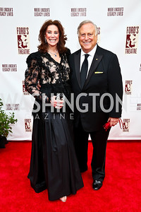 Suellen and Melvyn Estrin. Photo by Tony Powell. 2013 Ford's Theater Annual Gala. June 2, 2013
