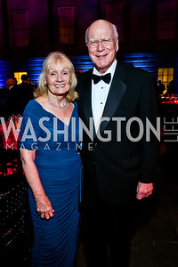 Marcelle Leahy and Sen. Patrick Leahy. Photo by Tony Powell. 2013 Ford's Theater Annual Gala. June 2, 2013