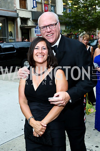 Kasey Nilson and Rep. Joe Crowley. Photo by Tony Powell. 2013 Ford's Theater Annual Gala. June 2, 2013