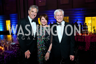 Paul Pelosi, Marlene and Fred Malek. Photo by Tony Powell. 2013 Ford's Theater Annual Gala. June 2, 2013