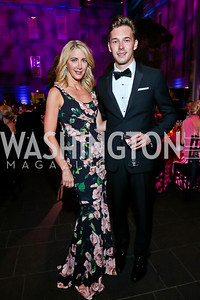 Loran Aiken, Nashville's Sam Palladio. Photo by Tony Powell. 2013 Ford's Theater Annual Gala. June 2, 2013