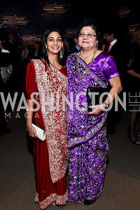"Zarin Kapadia, Katayun Kapadia. Photo by Tony Powell. Freer Sackler Gala Opening for ""The Cyrus Cylinder and Ancient Persia: A New Beginning."" March 5, 2013"