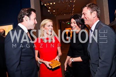 "Brady and Karen Nolan,  Jennifer Camel-Toueg, Chris Warnke. Photo by Tony Powell. Freer Sackler Gala Opening for ""The Cyrus Cylinder and Ancient Persia: A New Beginning."" March 5, 2013"