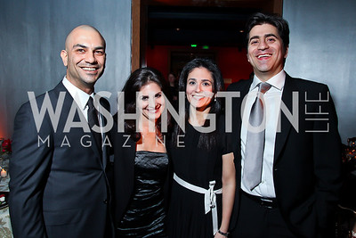 "Rod Baharloo, Rudi Bakhtiar, Sheila and Afshin Molavi. Photo by Tony Powell. Freer Sackler Gala Opening for ""The Cyrus Cylinder and Ancient Persia: A New Beginning."" March 5, 2013"