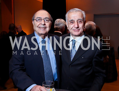 "Manoo Faily, Mohammad Mohseni. Photo by Tony Powell. Freer Sackler Gala Opening for ""The Cyrus Cylinder and Ancient Persia: A New Beginning."" March 5, 2013"
