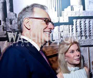 """Gary Tinterow, Frances Marzio. Photo by Tony Powell. Freer Sackler Gala Opening for """"The Cyrus Cylinder and Ancient Persia: A New Beginning."""" March 5, 2013"""