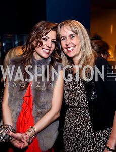 "Dalia Fateh, Isabel Ernst. Photo by Tony Powell. Freer Sackler Gala Opening for ""The Cyrus Cylinder and Ancient Persia: A New Beginning."" March 5, 2013"