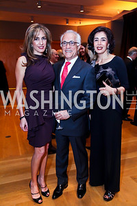 "Sima Ladjevardian, Farhood Malek. Nasrin Soudavar. Photo by Tony Powell. Freer Sackler Gala Opening for ""The Cyrus Cylinder and Ancient Persia: A New Beginning."" March 5, 2013"