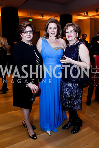 "Setareh Jahanbini, Layla Diba, Elahe Hajebi. Photo by Tony Powell. Freer Sackler Gala Opening for ""The Cyrus Cylinder and Ancient Persia: A New Beginning."" March 5, 2013"