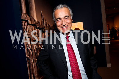 """Nader Biglari. Photo by Tony Powell. Freer Sackler Gala Opening for """"The Cyrus Cylinder and Ancient Persia: A New Beginning."""" March 5, 2013"""