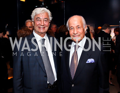 "Jafar Davoody, Mamucher Azmudeh. Photo by Tony Powell. Freer Sackler Gala Opening for ""The Cyrus Cylinder and Ancient Persia: A New Beginning."" March 5, 2013"