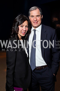 "Mai and Jim Abdo. Photo by Tony Powell. Freer Sackler Gala Opening for ""The Cyrus Cylinder and Ancient Persia: A New Beginning."" March 5, 2013"