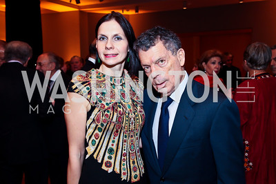 """Ludmila and Conrad Cafritz. Photo by Tony Powell. Freer Sackler Gala Opening for """"The Cyrus Cylinder and Ancient Persia: A New Beginning."""" March 5, 2013"""