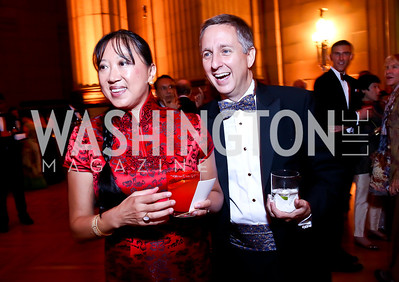 May Liang and Jim Lintott. Photo by Tony Powell. Some Enlightened Evening. Andrew Mellon Auditorium. October 17, 2013