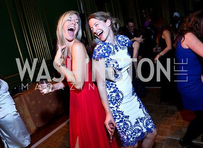 Kara Allinson, Ursula Arno. Photo by Tony Powell. Some Enlightened Evening. Andrew Mellon Auditorium. October 17, 2013