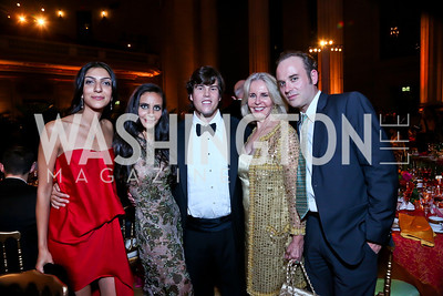 Neda Zahraie, Pari and Quinn Bradlee, Sally Quinn, Frederik Rubens. Photo by Tony Powell. Some Enlightened Evening. Andrew Mellon Auditorium. October 17, 2013