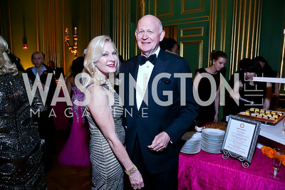 Susan and Michael Pillsbury. Photo by Tony Powell. Some Enlightened Evening. Andrew Mellon Auditorium. October 17, 2013