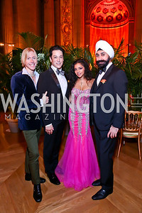 Jameson Freeman, Dana Tai Soon Burgess, Sonali Chitre, Rajinder Malhotra. Photo by Tony Powell. Some Enlightened Evening. Andrew Mellon Auditorium. October 17, 2013