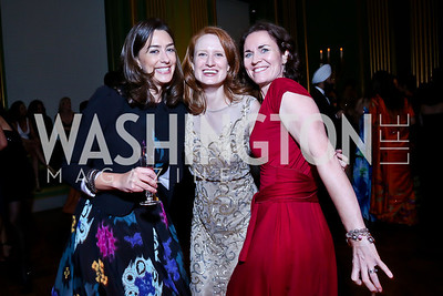 Julie Lelek, Danielle Most, Leigh Ann Simmons. Photo by Tony Powell. Some Enlightened Evening. Andrew Mellon Auditorium. October 17, 2013