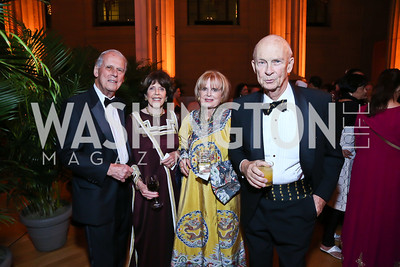 Walter and DiDi Cutler, Pam and Malcolm Peabody. Photo by Tony Powell. Some Enlightened Evening. Andrew Mellon Auditorium. October 17, 2013